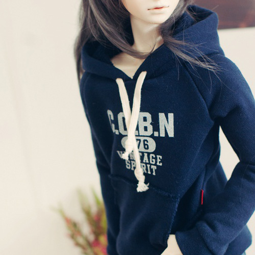 SD17 Boy Vintage Spirit Hooded T - Navy