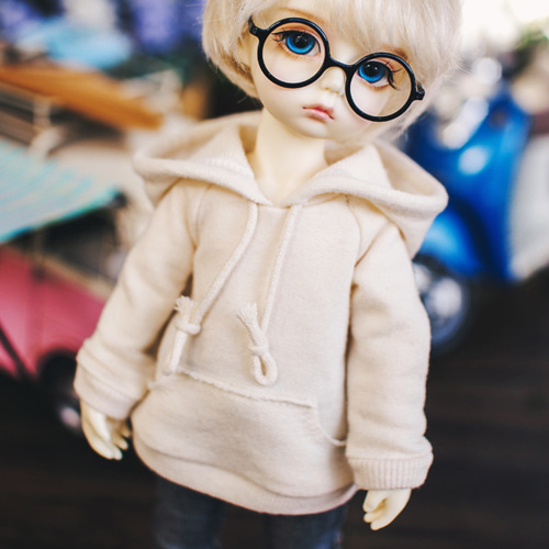 USD Vintage Hooded T - Beige