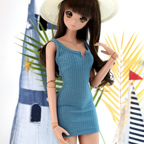 SD13 GIRL & Smart Doll Sleeveless Dress - Blue
