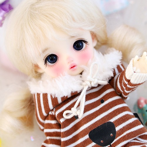 16CM Fur Baby Suit - R.Brown