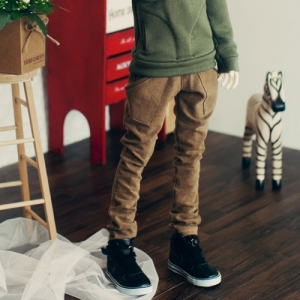 SD17 Boy Band Baggy Pants - Chestnut