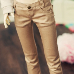 SD13 Boy Color Skinny Pants - Beige
