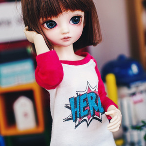 Bunny Hero T shirt - Red