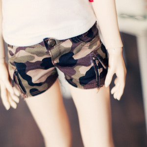 SD13 Girl Cargo Hot Pants Millitary