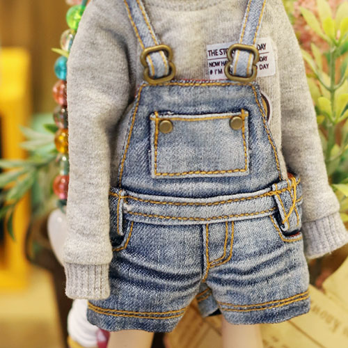 Blythe 2019 New Washing Shot Overall - Blue