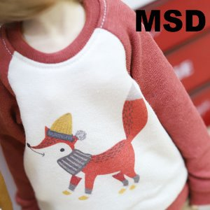 MSD Fox MTM - Red