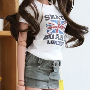 SD13 Girl & Smart Doll LONDON T shirt