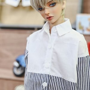 SD17 FreeHalf line Shirt - Navy