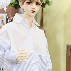 SD17 FreeHalf line Shirt - Sky