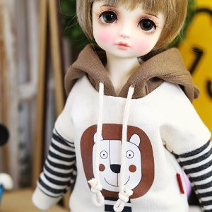 USD Lion Hooded - Brown