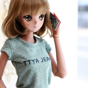 SD13 Girl & Smart Doll TTYA Basic T Shirt - Green