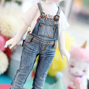 USD Skinny Washing Overalls - Blue