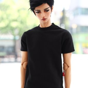 IDEALIAN 75 Short Sleeved T-Shirt - Black