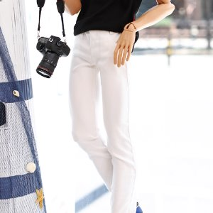 [Pre-Order] IDEALIAN 75 Cotton Pants - White
