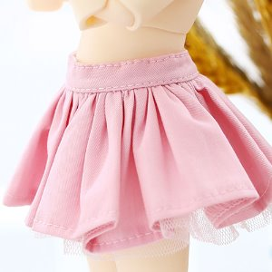 USD pleated skirt -Pink