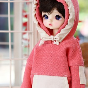USD Pigment Coloration Hooded -Pink