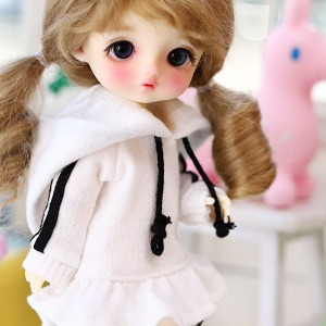 16CM Line  One-piece-White