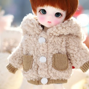16CM Mongmong Fur Jumper- Brown