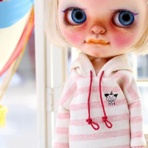 Blythe coloration Hooded-Pink