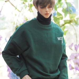 [ID75]Color casual over MTM(Green)