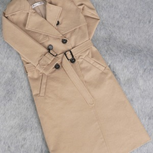 (Pre-Order) [SDB]Long trench coat(Beige)